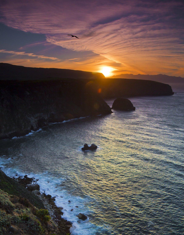 Sunset Channel Islands Harbor: California Sunset