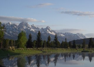 Wyoming's National Elk Refuge. Tweeted by the US Department of the Interior, 8/11/16.