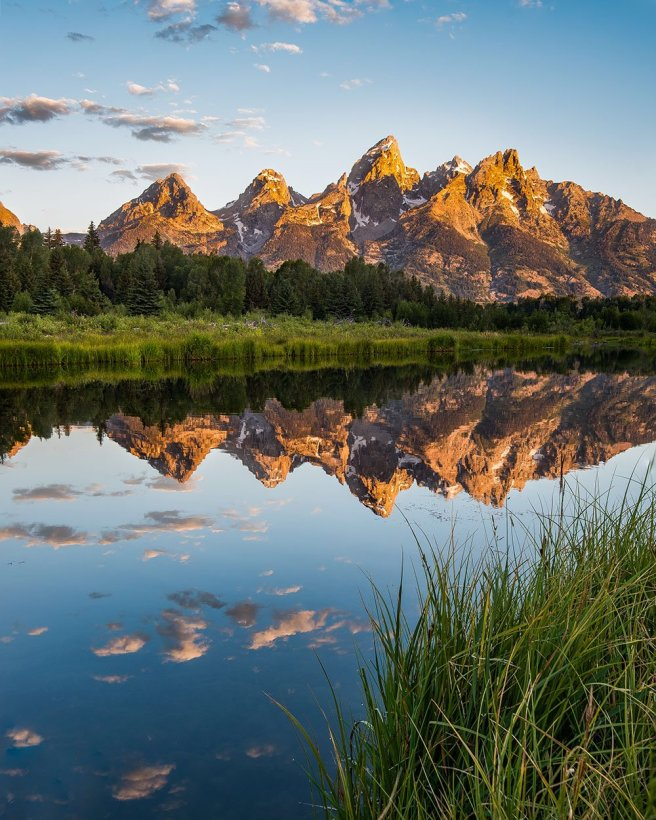 It's hard to have a bad view at Wyoming's Grand Teton National Park from the always beautiful Schwabacher Landing. Photo by Josh Packer. Tweeted by the US Department of the Interior, 9/16/16.