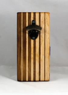 Magic Bottle Opener 16 - 149. Jatoba & Birdseye Maple. Double Magic.