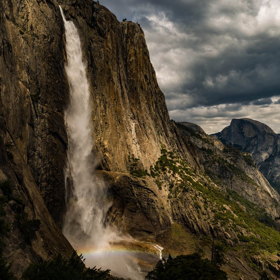 Yosemite National Park. Photo by Nathan Swzarc. Tweeted by the US Department of the Interior, 9/12/16.