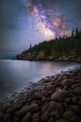 If you like stargazing, you'll love this picture of the Milky Way over Maine's Acadia National Park. Photo by Manish Mamtani. Tweeted by the US Department of the Interior, 1/21/17.