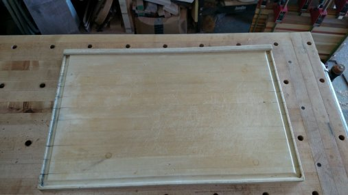This is an heirloom board from Eric's mother. It's about 30 years old, and has never been restored.