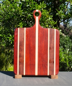 Sous Chef 17 - 903. Padauk, Hard Maple & Bubinga.