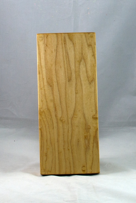 "Serving Piece 17 - 807. Hard Maple. 12"" x 5"" x 1-1/8""."