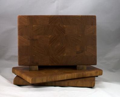 """Small Board 17 - 226. Cherry. End Grain. 7"""" x 11"""" x 1""""."""