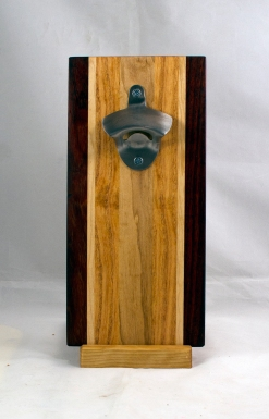Magic Bottle Opener 17 - 669. Padauk, Hard Maple & Honey Locust.Double Magic.