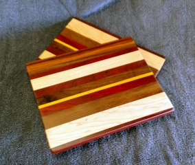 "Cheese Board 18 - 101. Chaos Boards. 8"" x 11"" x 5/8""."