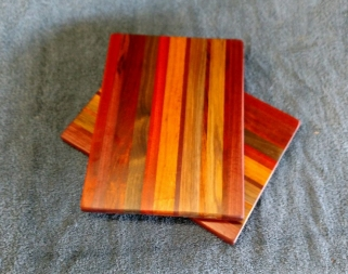 "Cheese Board 18 - 103. Chaos Boards. 8"" x 11"" x 5/8""."