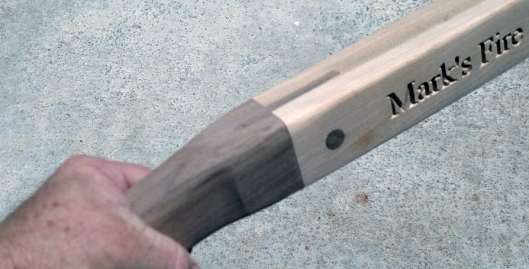 Special Order 18 - 950b. Handle joinery detail.